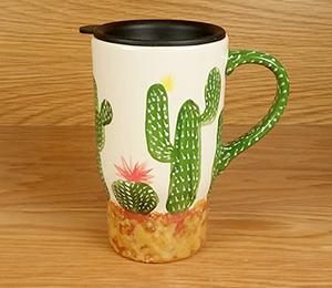 Glenview Cactus Travel Mug