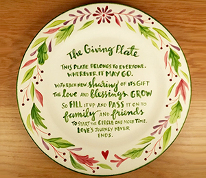 Glenview The Giving Plate
