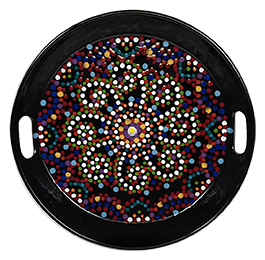 Glenview Mosaic Mandala Tray