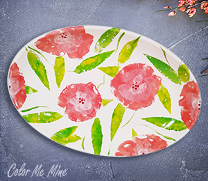 Glenview Floral Paper Stamping