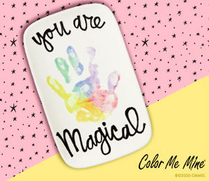 Glenview Rainbow Hand-print
