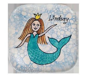 Glenview Mermaid Plate