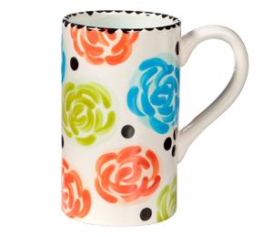 Glenview Simple Floral Mug