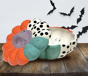 Glenview Color Block Pumpkin