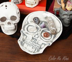 Glenview Vintage Skull Plate