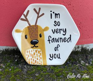 Glenview Fawn Plate
