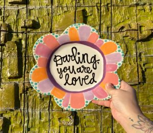 Glenview Flower Plate