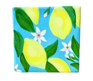 Glenview Lemon Square Tile