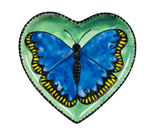 Glenview Butterfly Plate