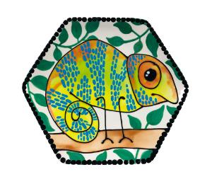 Glenview Chameleon Plate