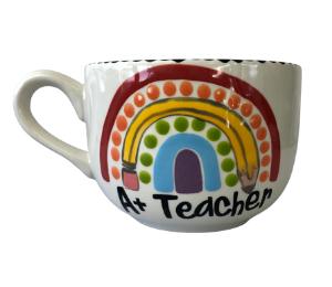Glenview Polka Dot Rainbow Mug